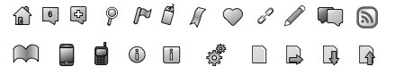 Social Interaction Icons